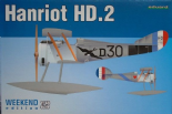 EDK8413 1/48 WWI Hanriot HD.2 Floatplane Weekend